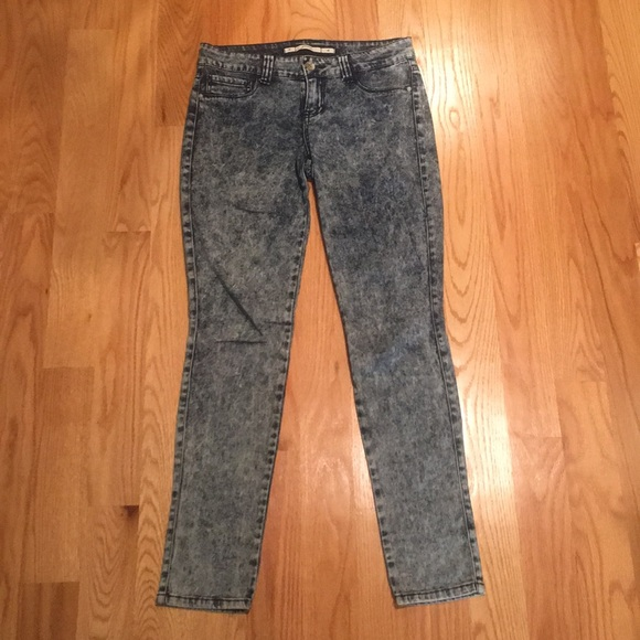 Grane Denim - Acid wash skinny jegging